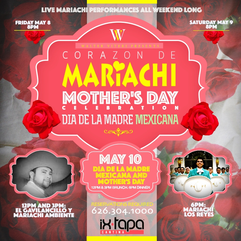 Mothers Day Flyer: Sunday May 10: MOTHER'S DAY/DIA DE LA MADRE