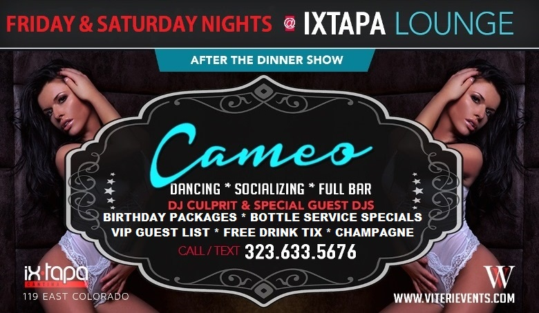 Cameo Solo flyer WV 2