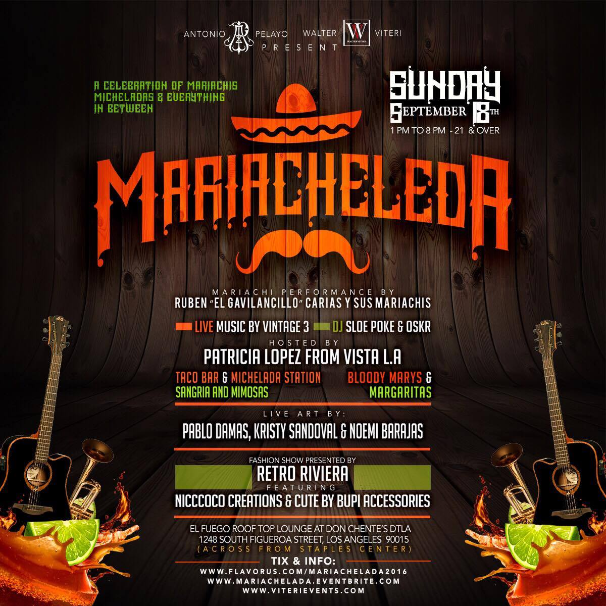 Main flyer mariachelada